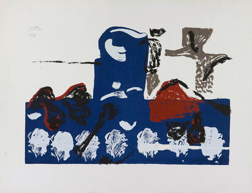 Litografía, 1972
