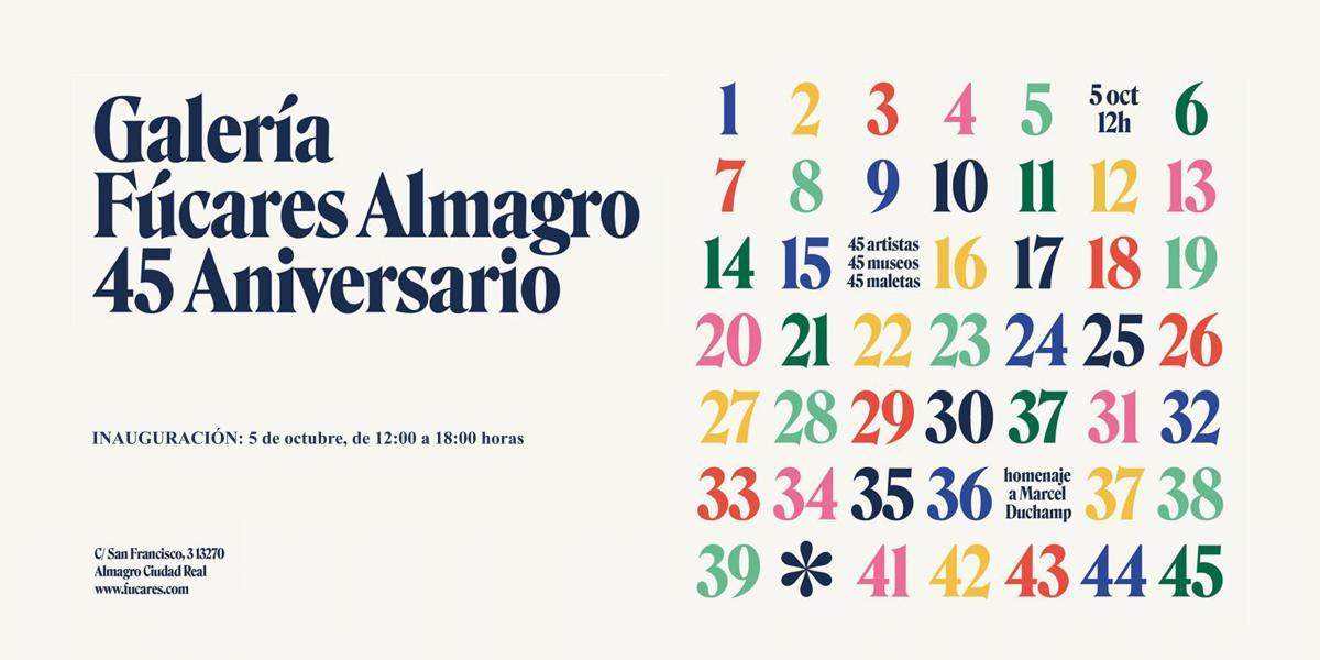 45 Aniversario Galería Fúcares