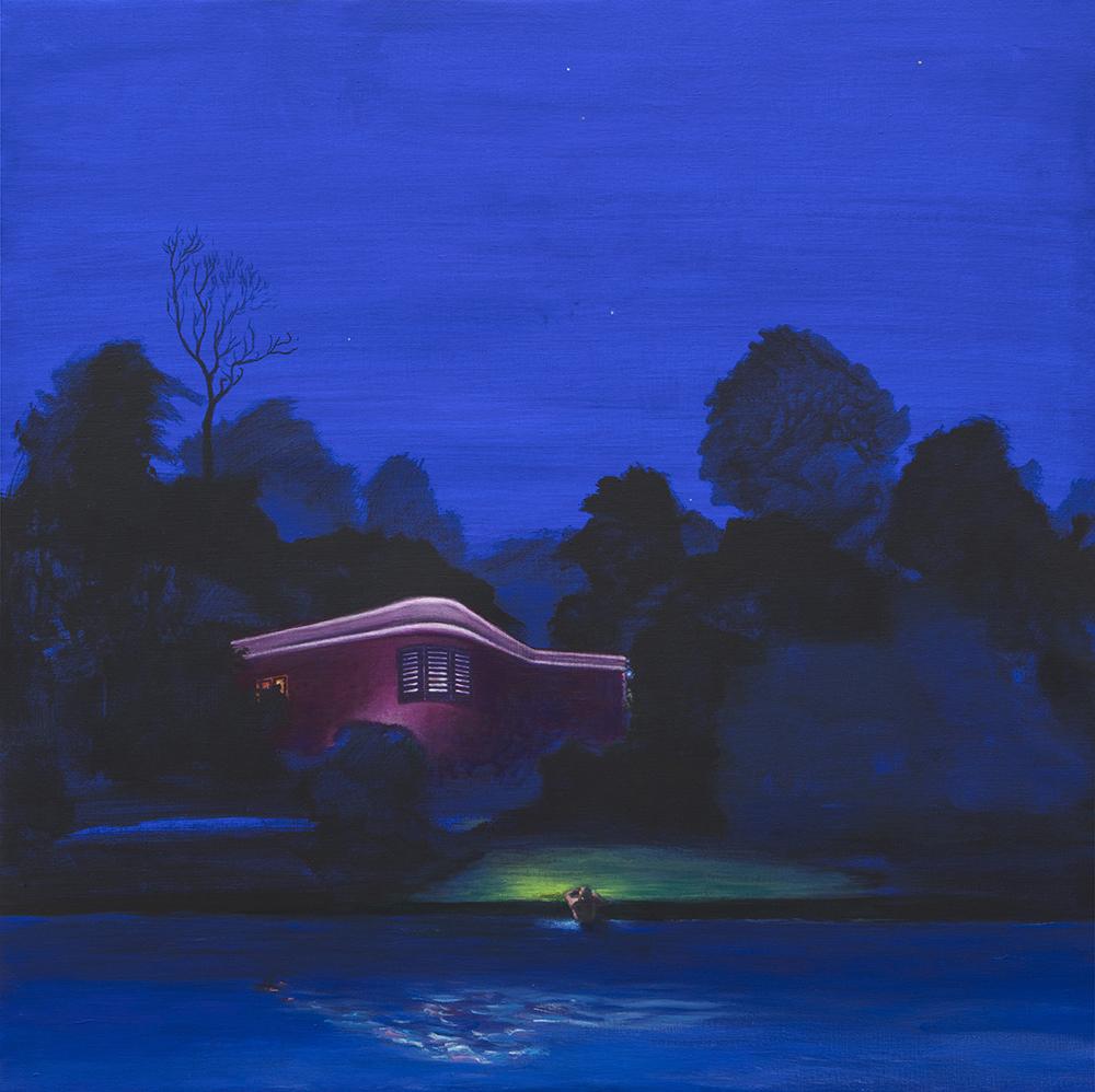 Iluminados. 2017 Acrílico/lienzo 120 x120 cm