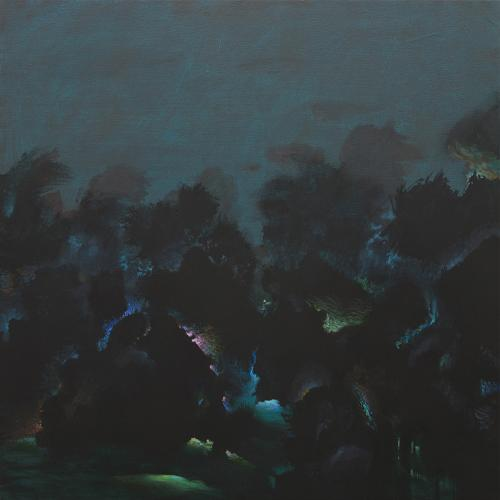 Tempesta. 2017/18 Acrílico/lienzo 110 x110 cm