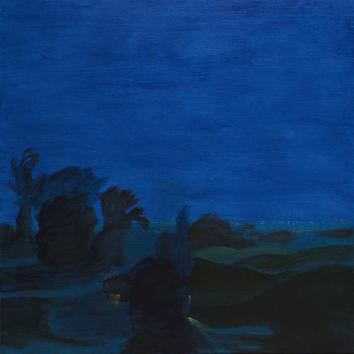 Desert club. 2018 Acrílico/lienzo 110 x110 cm