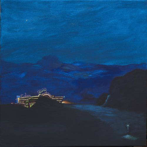 Mountain club. 2019 Acrílico/lienzo 60 x 60 cm