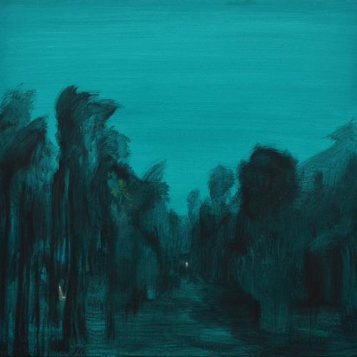 Le bois. 2017 Acrílico/lienzo 110 x110 cm
