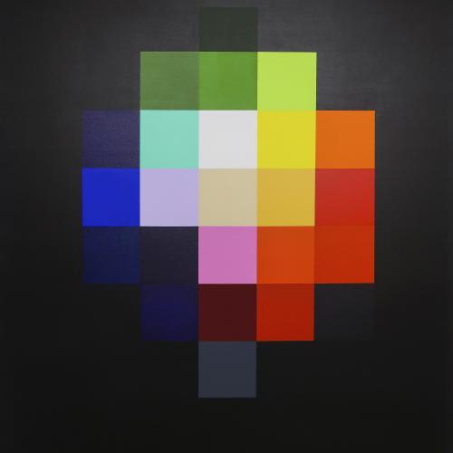 Beatriz Castela Spectrum I Técnica: Acrílico sobre lienzo Medidas: 146 x 114 x 4 cm 2019