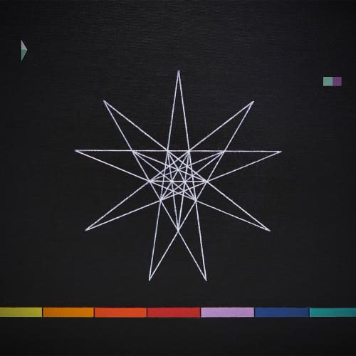 Beatriz Castela ZX Colors I Técnica: Acrílico y papel sobre cartón entelado.  Medidas: 22 x 26,5 cm 2019