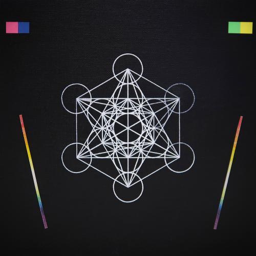 Beatriz Castela ZX Colors II Técnica: Acrílico y papel sobre cartón entelado.  Medidas: 22 x 26,5 cm 2019