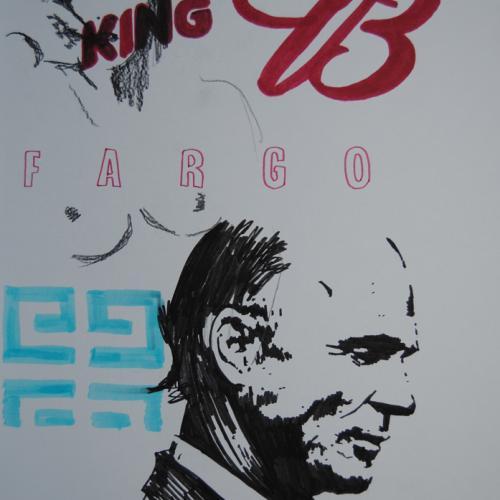 42cm x 30cm - rotulador sobre papel - FARGO - 2014