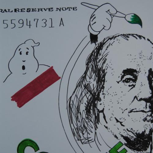 42cm x 30cm - rotulador sobre papel - NIRVANA SONG - 2014