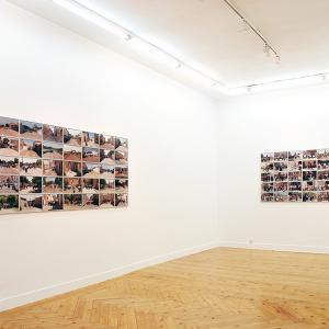 """proyecto """"Extras"""" (209-11); instalación en la Galería Fúcares (Madrid), 2011."""