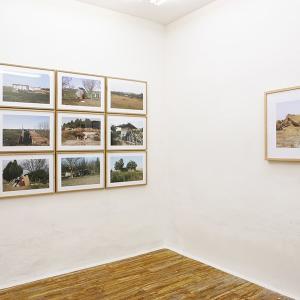 """proyecto """"Terra"""" (2004-09); instalación en la Galería Fúcares (Almagro), 2009."""
