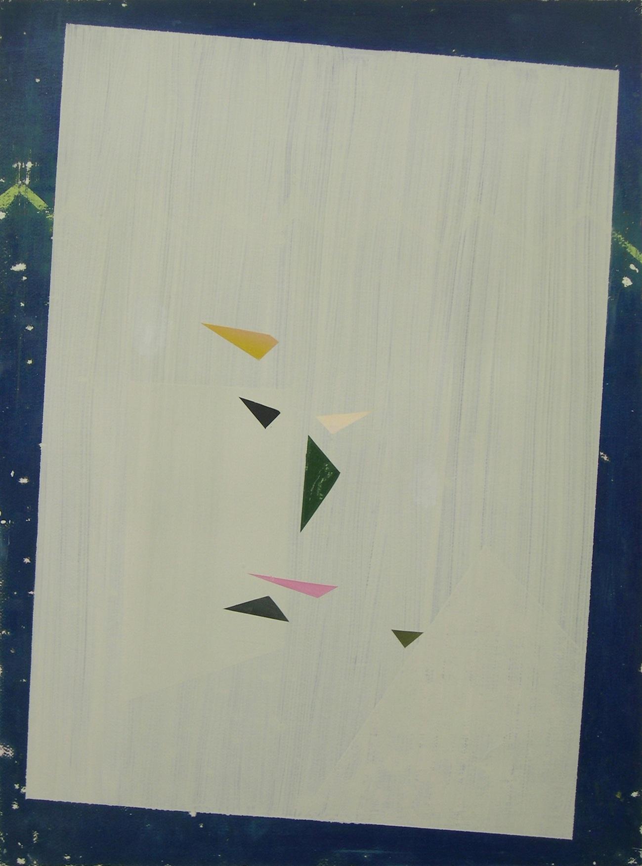 Aparición, 2014 Óleo sobre cartón 76 x 56 cm
