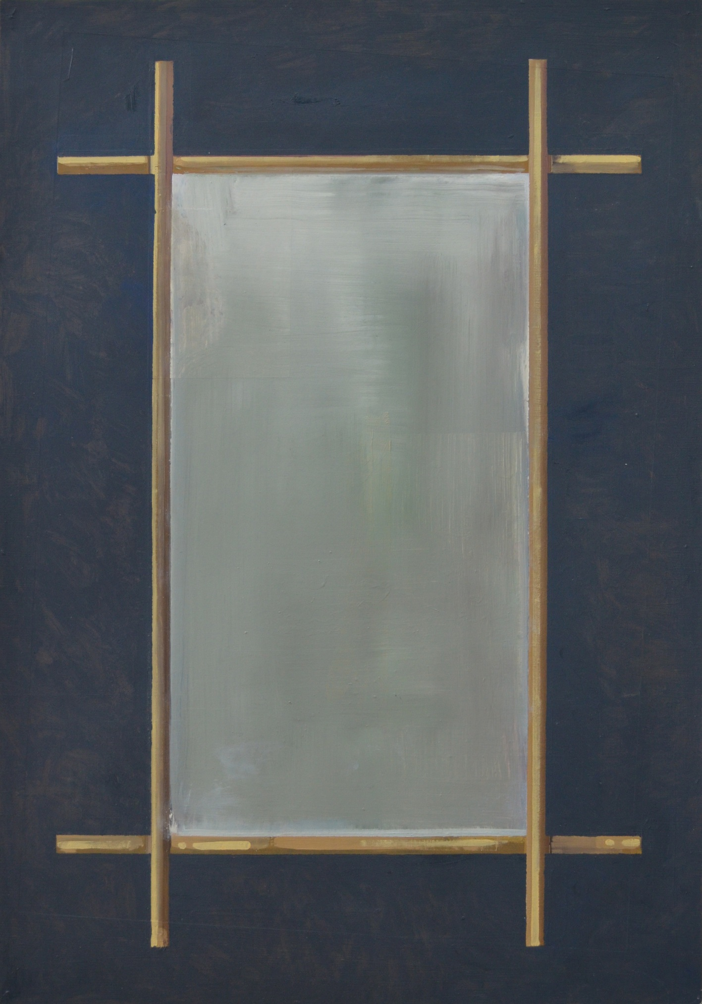 Espejo, 2014 Óleo sobre Cartón 76 x56 cm.