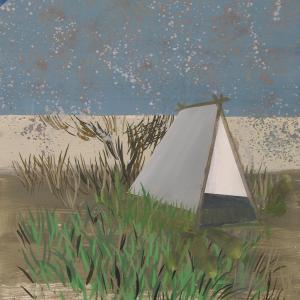 Jardín, 2013 Óleo sobre Cartón 76 x56 cm.