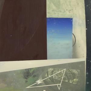 Ni, 2013 Óleo sobre Cartón 76 x56 cm.