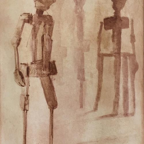 2018  Fotopolímero a 2 planchas  39,5 x 27,5 cm  Papel: 38 x 56 cm