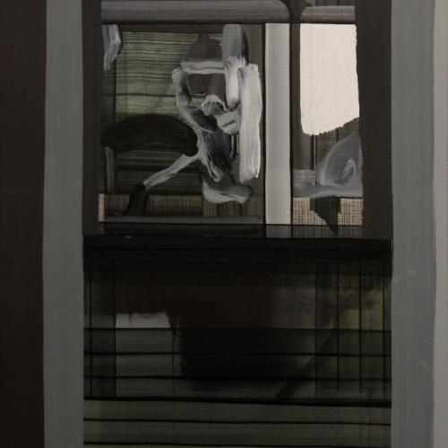 Jorge Julve. S/T, 2016. Acrílico sobre tela. 114x77 cm.