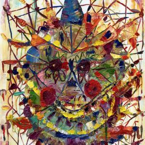 Feliz feliz, Oil on wood 21 x 29 cm 2013