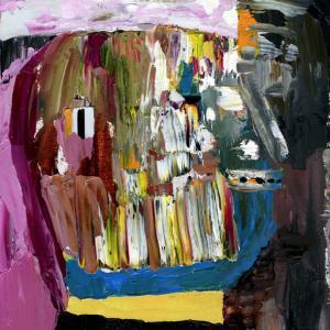 Reo, Oil on wood 21 x 29 cm 2013