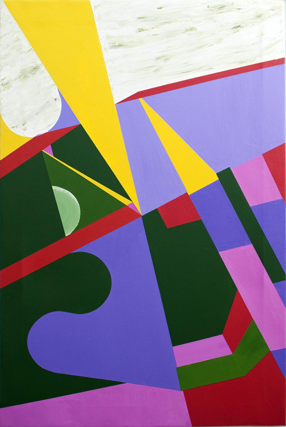 81 cm x 54 cm, Acrílico sobre lienzo, 2018