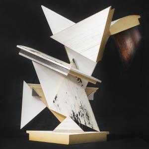 Madera policromada, 35x33.5x21 cm, 2015