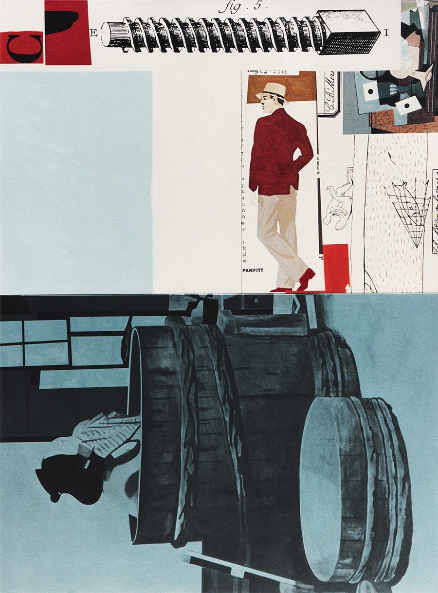 Le voyeur obsédé. 1996. Acrílico/lienzo. 260 x 195 cms. Díptico.