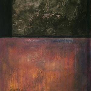 El naufragio. 1989. Vinílico/lienzo. 180 x 140 cms.