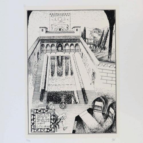 El Patio de los Arrayanes, El Patio de la Reja y la Cripta del Palacio de Carlos V, 1997¨